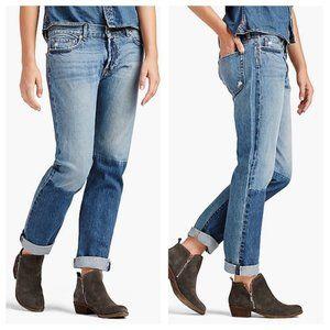 Lucky Brand Legend Vintage Straight Dip Dye Jeans